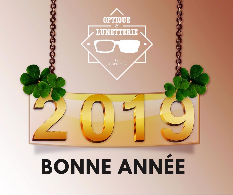 Heureuse année 2019 !